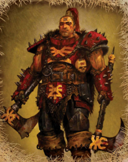 Warhammer Khornate Marauder