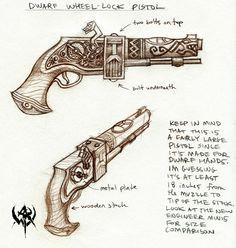 Dwarf pistol concept 01