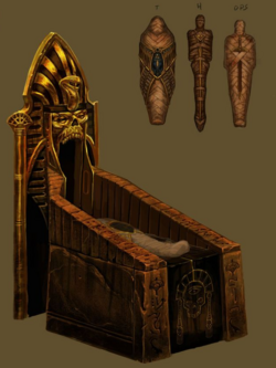 Warhammer Tomb Kings Sarcophagus