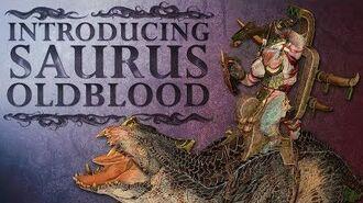 Total War WARHAMMER 2 - Introducing... Saurus Oldblood