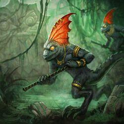 Warhammer Lizardmen Skinks