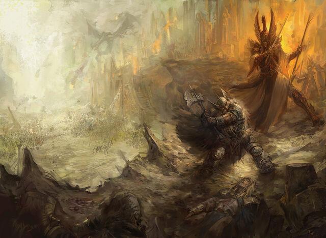 File:The great betrayal warhammer by faroldjo-d6t429w.jpg