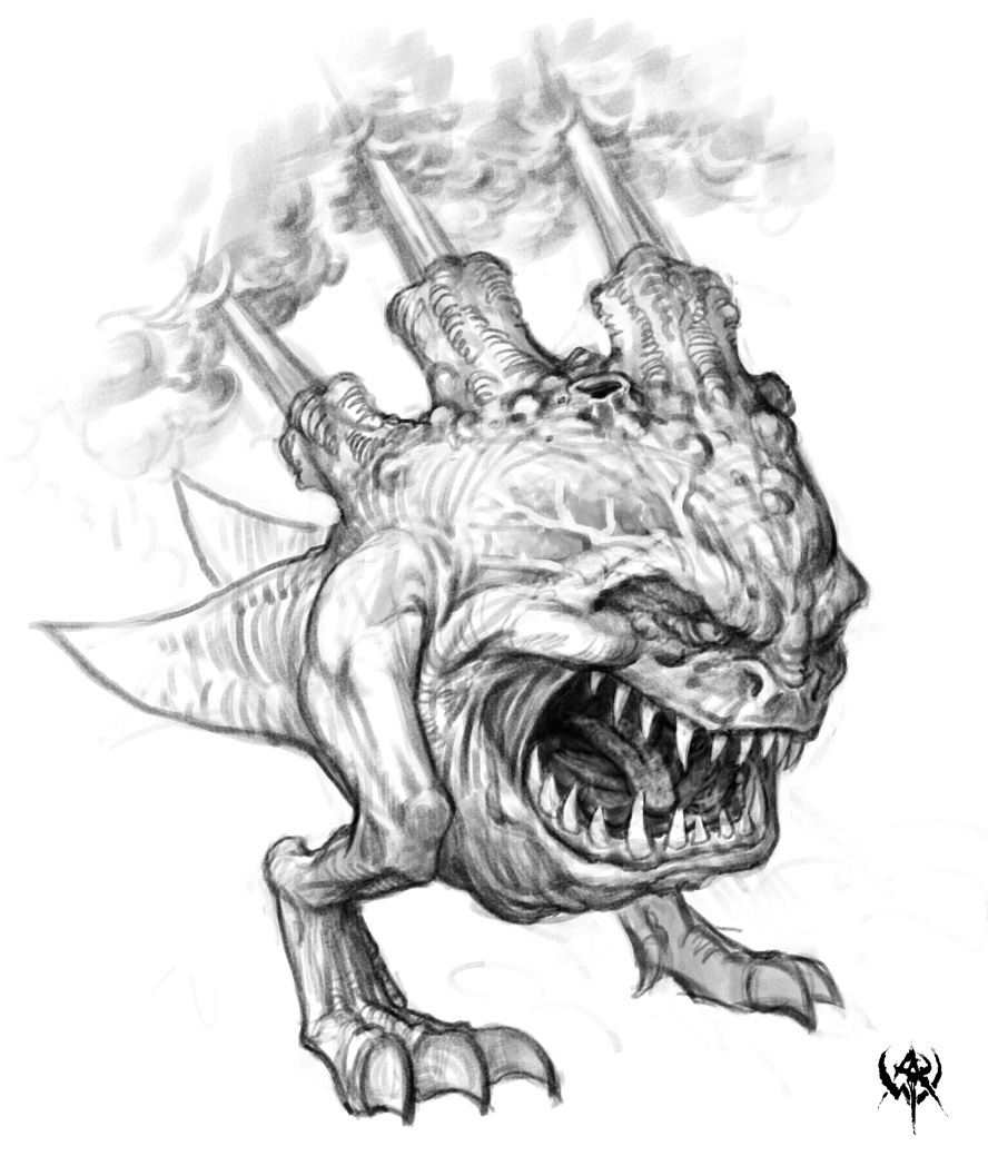 skaven clanrats coloring pages | Image - A Gas Squig.jpg | Warhammer Wiki | FANDOM powered ...