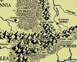 Karak Norn Hirn Izor Vaults region