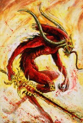 Warhammer Bloodletter Portrait