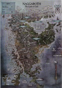 Warhammer Naggaroth Map