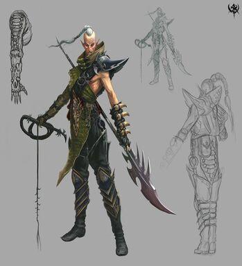 Beastmaster Concept Art WAR