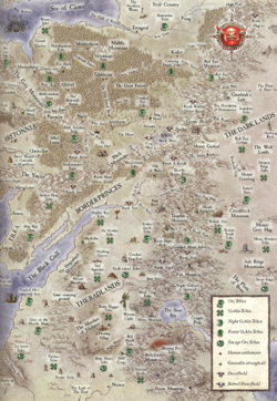 Ork Tribe Map