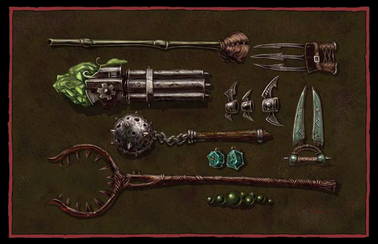 Skaven Weaponry