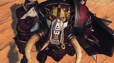 Total War Warhammer - Greenskins - Black Orc Big Boss