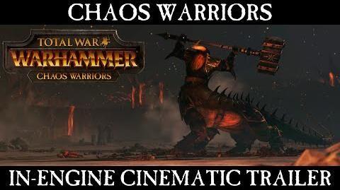 Total War WARHAMMER Chaos Warriors Cinematic Trailer