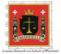Countess Emanuelle von Liebwitz Heraldry