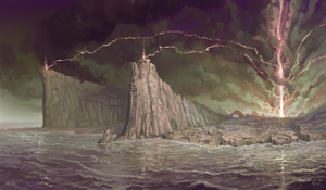 Isle of the Dead concept art