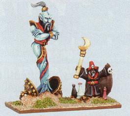 Arabian Djinn Araby Warmaster Miniatures