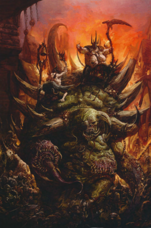 Warhammer End Times Glottkin Attacks Altdorf