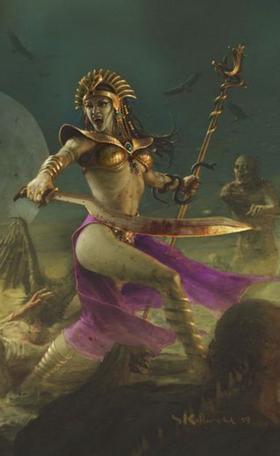 Warhammer Neferata Art