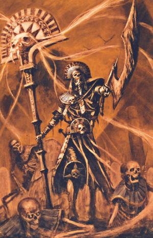 Warhammer Tomb Kings Tomb Herald