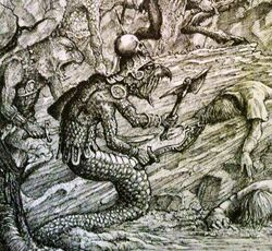 Snakemen illustration (2)
