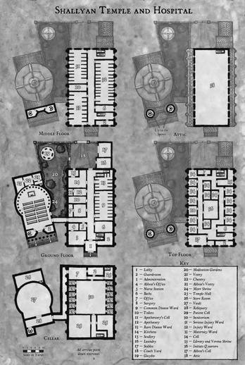 Shallyan Temple and Hospital