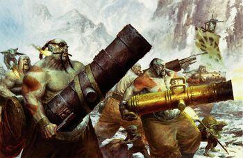 Leadbelchers Ogre Kingdoms Colour Illustration