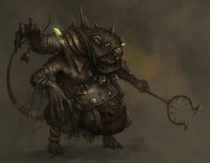 Warhammer Skaven Throt the Unclean
