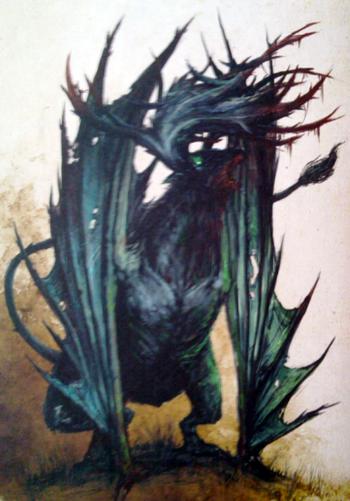 Preyton Chaos Monstrous Arcanum illustration