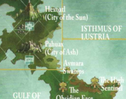 Warhammer Pahuax Map