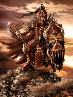 Warhammer Chaos Lord Khorne