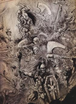 Warhammer Kurgan Arts