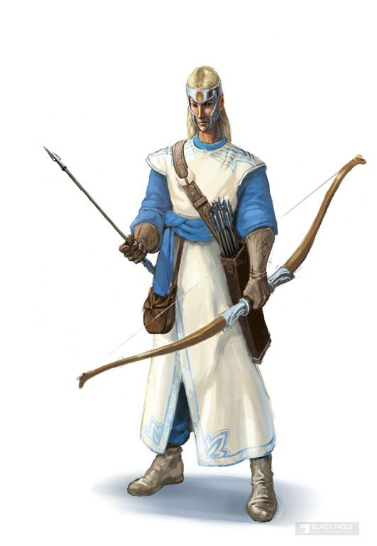 Fantasy Character Concept Art E Archer