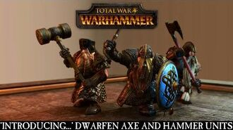 Total War WARHAMMER - Introducing... Dwarfen Axe and Hammer Units ESRB
