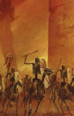 Warhammer Tomb Kings Skeleton Horsemens