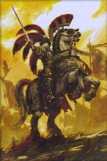 Empire Marius Leitdorf a caballo