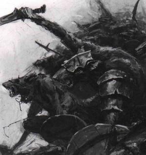 Warhammer Skaven Clanrat Art