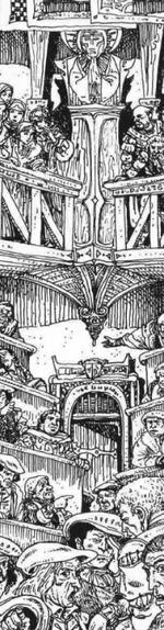 Warhammer Marienburg Stadsraad
