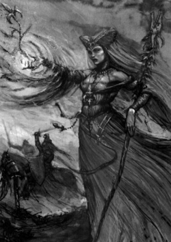 Warhammer Prophetess of the Lady