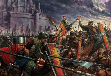 Bretonnia Men-at-Arms (Art)