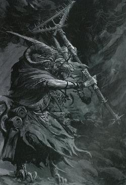Warhammer Grey Seer Art