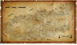 Talabecland Map