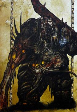 Warhammer Tamurkhan Plague Ogres