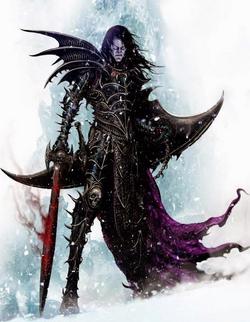 Warhammer Malus Darkblade Art