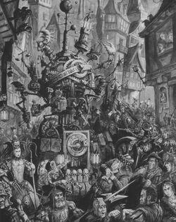 Warhammer Streets of Altdorf