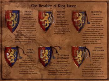 Louen Leoncoeur Heraldry
