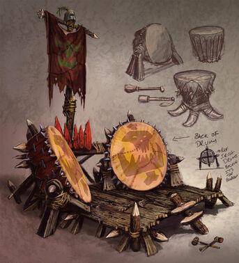 Orc Drum Concept Art