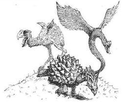 Culchan Turtle Dragon Coatl 2nd Edition illustration