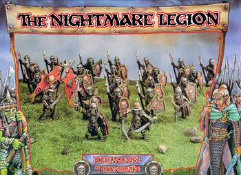 Nightmare Legion Undead 3rd Edition boxart