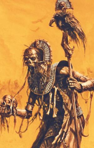 Warhammer Tomb Kings Liche Priest