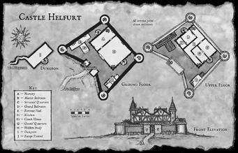 Castle Helfurt Map
