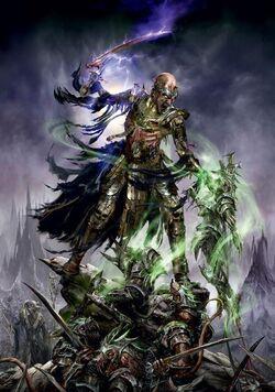Warhammer Nagash vs Skaven