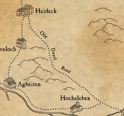 Warhammer Old Dwarf Road